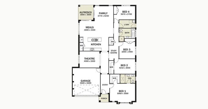 Avalon provincial homes for Avalon floor plan