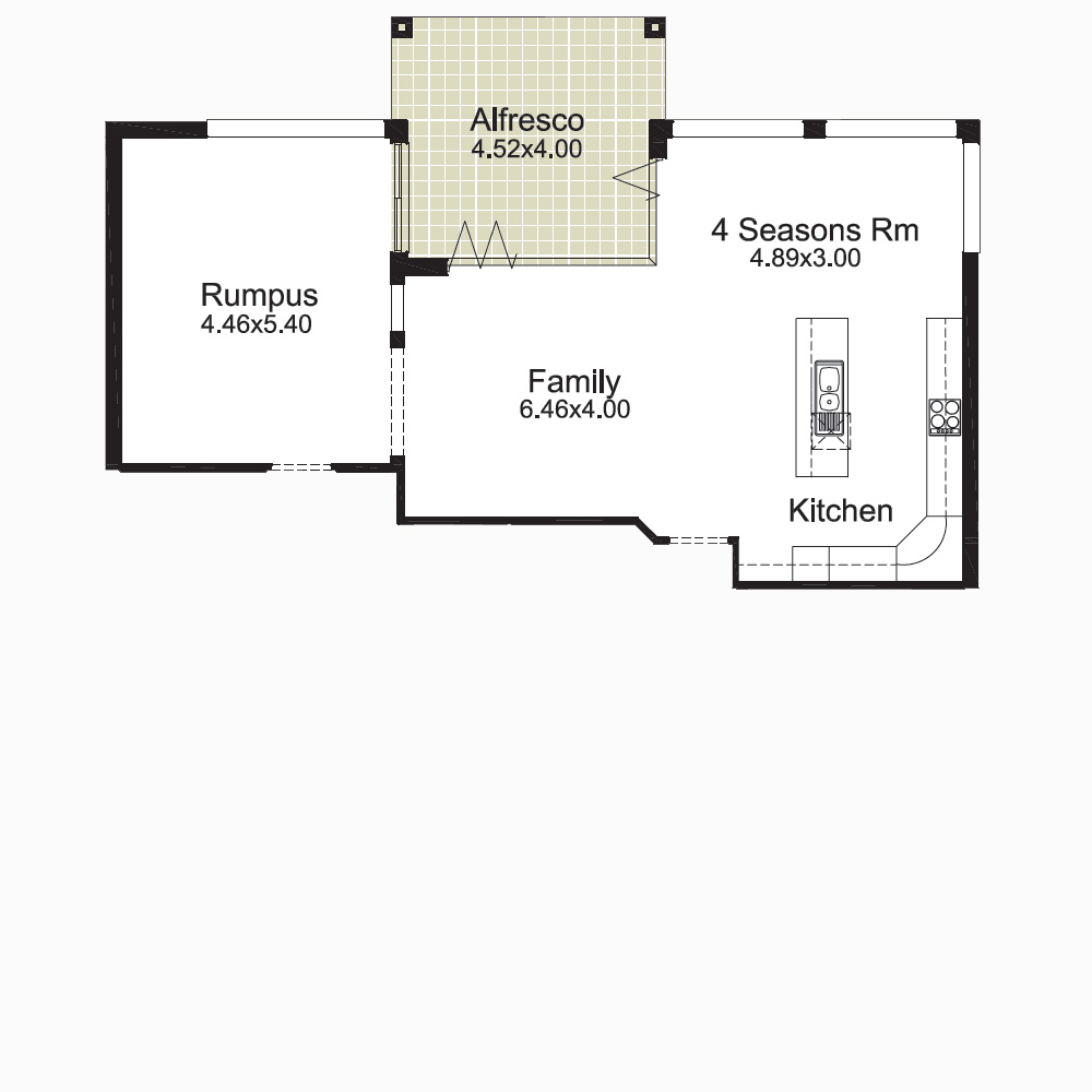 Sienna Optional Floorplan 1