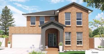 Big modern duplex house