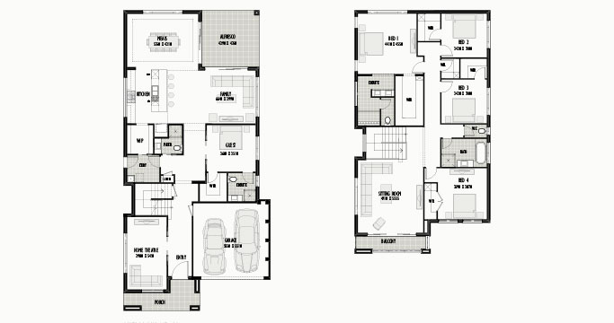 Shellbourne 42 with Entry Home Theatre & 4 Bed