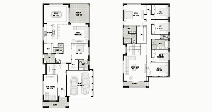 Shellbourne 42 with Entry Home Theatre & 5 Bed