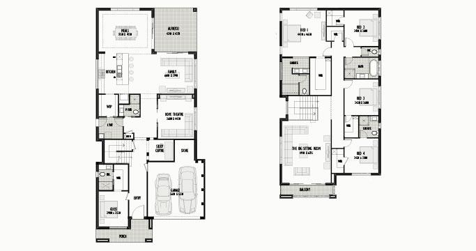 Shellbourne 44 + 4 Bed